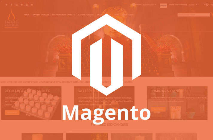 Services magento development